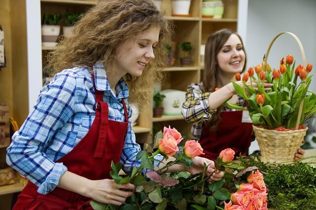 как открыть цветочный магазин с минимальными вложениями