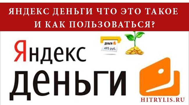 Яндекс деньги что это такое и как пользоваться? Пошаговая инструкция