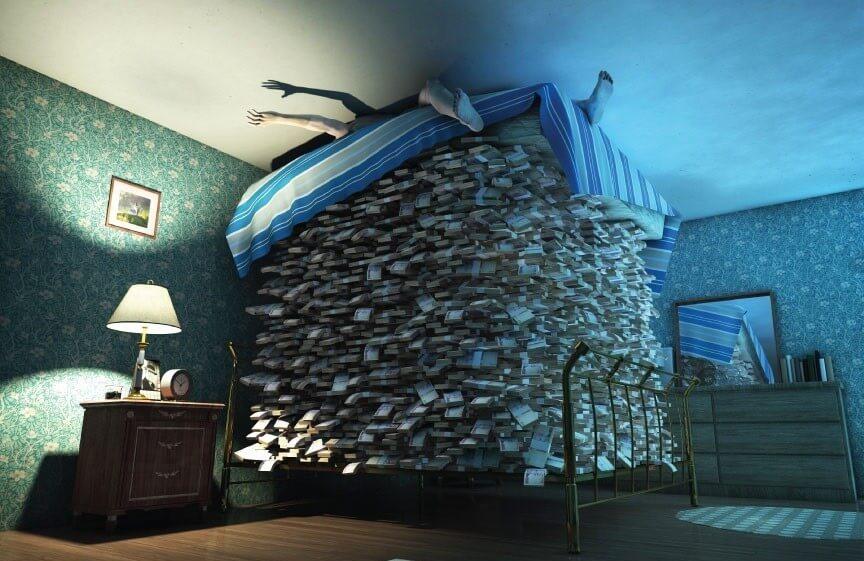 деньги под матрацем