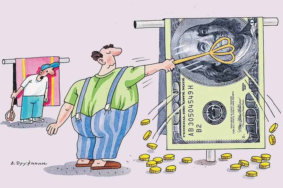 выбивание денег