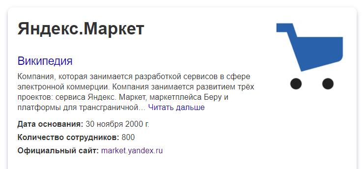 Яндекс маркет что это